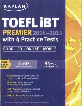 TOEFL IBT PREMIER 2014-2015 with 4 PRACT