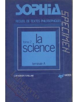 SOPHIA TOME 2 LA SCIENCE