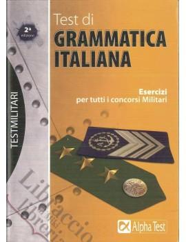 TEST DI GRAMMATICA ITALIANA