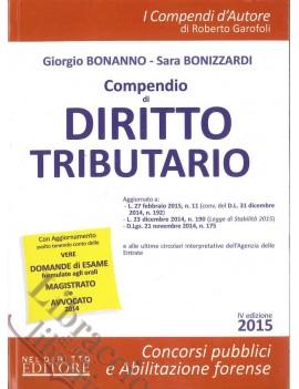 COMPENDIO DI DIRITTO TRIBUTARIO 2015