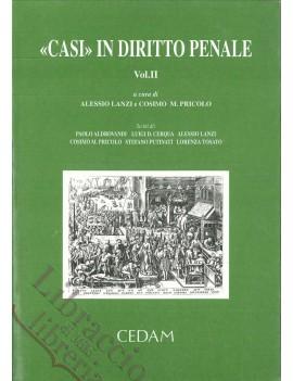 CASI IN DIRITTO PENALE VOL.2
