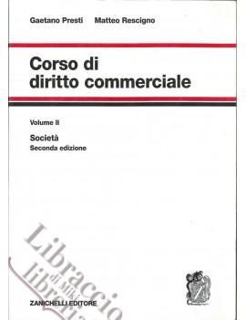 CORSO DI DIRITTO COMMERCIALE VOL2 SOCIET
