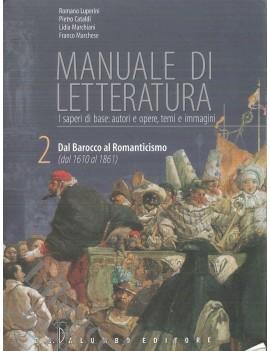 MANUALE DI LETTERATURA 2