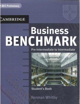 V.E. BUSINESS BENCHMARK PRE INTERMEDIATE