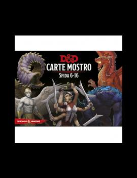 D&D 5a Ed. - CARTE MOSTRO SFIDA 6-16