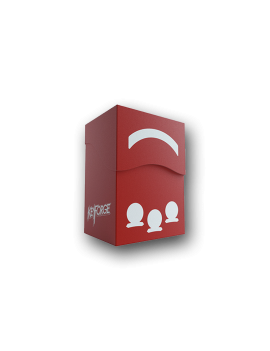 DECK BOX KEYFORGE GEMINI RED