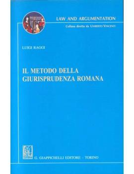 METODO DELLA GIURISPRUDENZA ROMANA (IL)