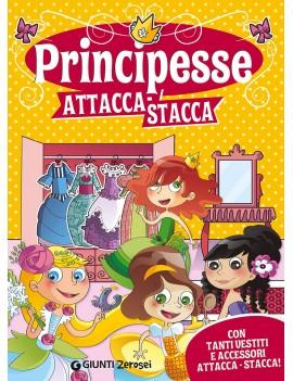 PRINCIPESSE ATTACCA-STACCA. CON ADESIVI