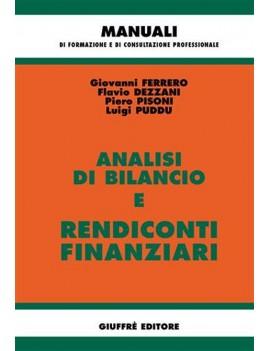 ANALISI DI BILANCIO e Rendiconti Finanzi