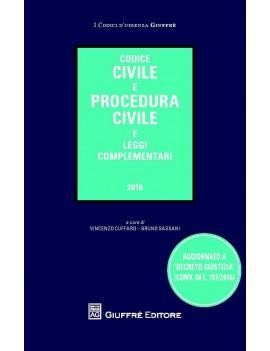 codice civile e procedura civile 2016