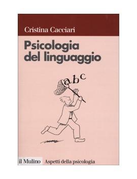 V.E. PSICOLOGIA DEL LINGUAGGIO