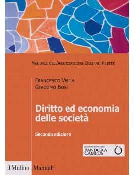 DIRITTO ED ECONOMIA DELLE SOCIETA'