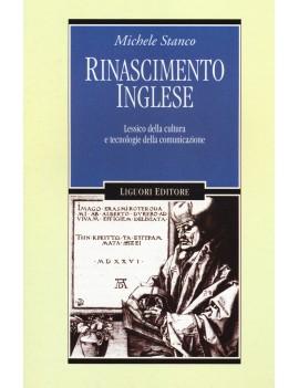 RINASCIMENTO INGLESE. LESSICO DELLA CULT