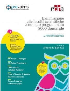 AMMISSIONE FACOLTA' SCIENTIFICHE 8000 DO