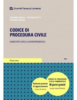 CODICE DI PROCEDURA CIVILE 2019 E LEG
