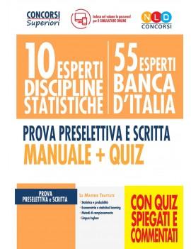 10 esperti BANCA D'ITALIA discipline sta