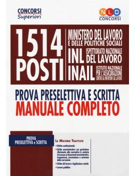 1514 MINISTERO LAVORO POLITICHE SOCIALI