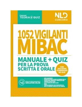 1052 VIGILANTI MIBACT manuale + quiz