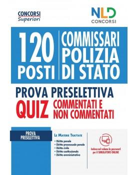 120 COMMISSARI POLIZIA DI STATO