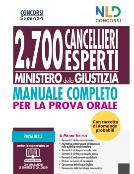 2700 cancellieri esperti ministero della