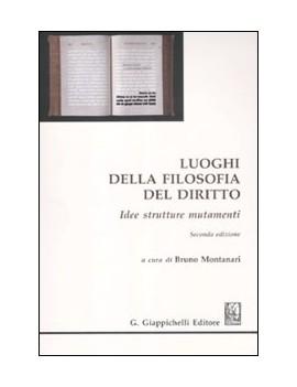 LUOGHI DELLA FILOSOFIA DEL DIRITTO