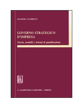 GOVERNO STRATEGICO D'IMPRESA