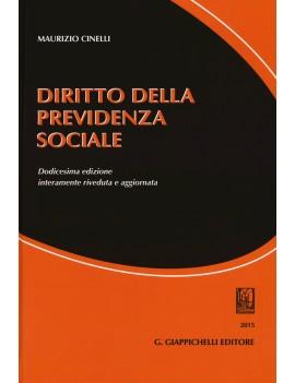 DIRITTO DELLA PREVIDENZA SOCIALE ve