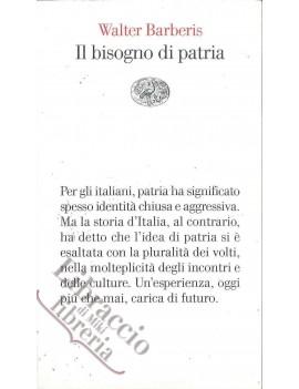 BISOGNO DI PATRIA V.E.