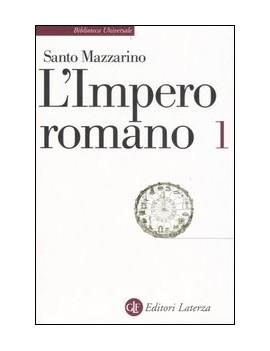 IMPERO ROMANO (L'). VOL. 1