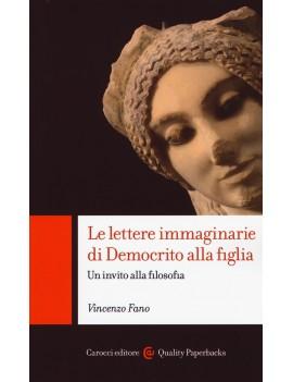 LETTERE IMMAGINARIE DI DEMOCRITO ALLA FI