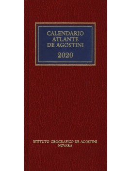 CALENDARIOATLANTE DE AGOSTINI 2020. CON