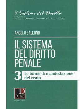 SISTEMA DEL DIRITTO PENALE 3