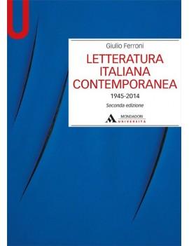 LETTERATURA ITALIANA CONTEMPORANEA 1945-