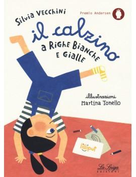 CALZINO A RIGHE BIANCHE E GIALLE (IL)