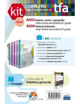 KIt completo TFA classi A043 A050