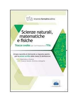 SCIENZE NATURALI MATEMATICHE FISICHE
