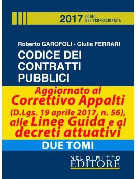 CODICE DEI CONTRATTI PUBBLICI 2017