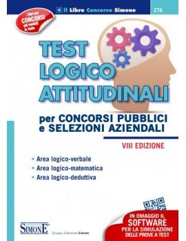 TEST LOGICO ATTITUDINALI. PER CONCORSI P