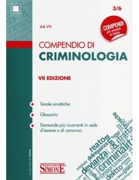 COMPENDIO DI CRIMINOLOGIA 2013