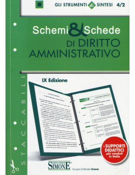 SCHEMI E SCHEDE DIR AMMINISTRATIVO 4/2