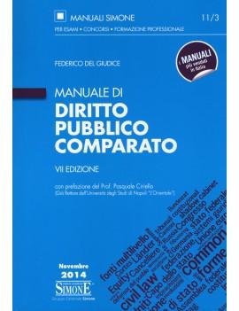 MANUALE DI DIRITTO  PUBBLICO COMPARATO 2