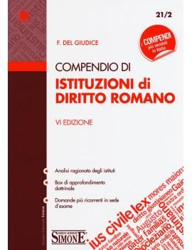 COMPENDIO DI ISTITUZIONI DI DIRITTO ROMA