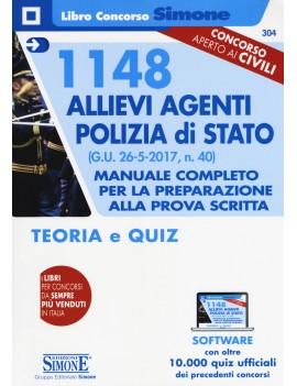 1148 ALLIEVI AGENTI POLIZIA DI STATO TEO