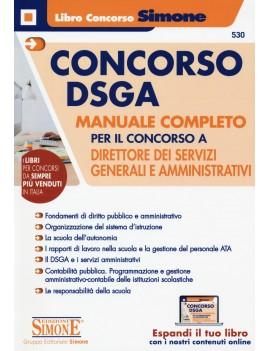 CONCORSO DSGA manuale completo