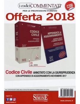 OFFERTA CODICE CIVILE 2018 ANNOTATO