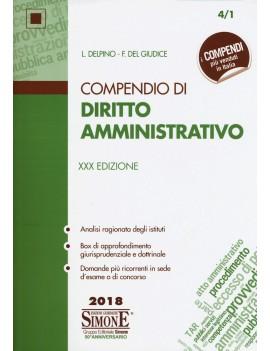 COMPENDIO DI DIRITTO AMMINISTRATIVO 18