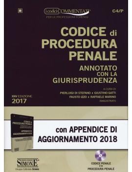 CODICE PROCEDURA PENALE + appendice aggi