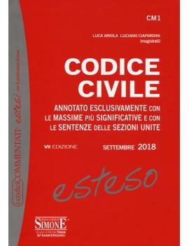 CODICE CIVILE ESTESO 2017