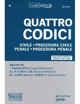 QUATTRO CODICI 2019