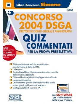 CONCORSO DSGA quiz psicoattitudi